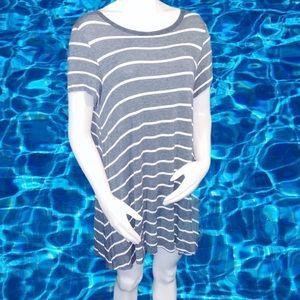 TeeShirt Style Dress/ Cover- Up